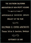 Southern California Association of Non-Profit Housing - Project of the Year - 