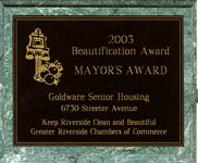 City of Riverside - Mayor's Award - 