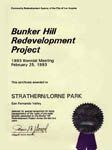 City of Los Angeles Community Redevelopment Agency - Strathern Park
