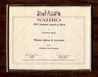 NAHRO - National Award of Merit in Economic Impact - Strathern Park