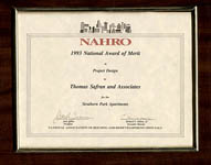 NAHRO - National Award of Merit in Project Design - Strathern Park