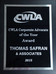 Child Welfare League of America - Corporate Advocate of the Year Award